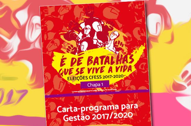 ELEIÇÕES CONJUNTO CFESS/CRESS 2017-2020